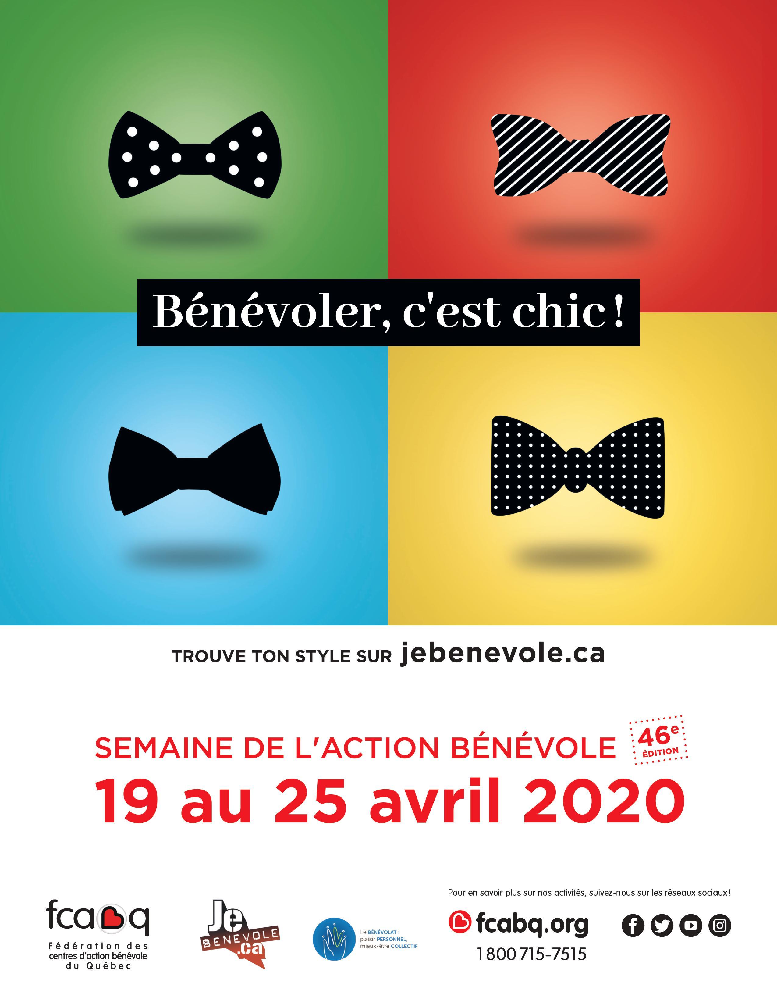 Semaine de l'action bénévole 2020